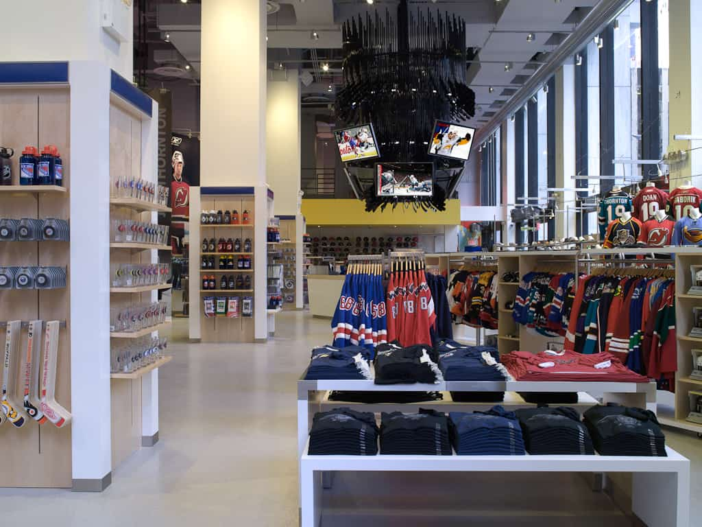 Nhl Store Powered By Reebok New York Mccann Systems