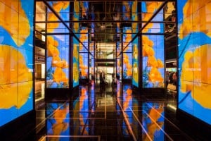 See The Cosmopolitan lobby at InfoComm 2016