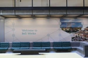 Bell Works Lobby to get Wayfinding Upgrade