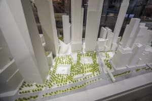 9/11 Tribute Museum _ Scale Model _ McCann Systems
